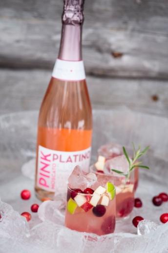 Pink Platino joulusangria